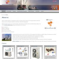 Ontwerp en uitvoering website Atexxo.com