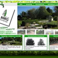 Webontwerp voor Van der Burg Hovenier
