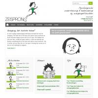 Webontwerp voor Zeisprong