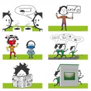 Ontwerp illustraties voor Zeisprong