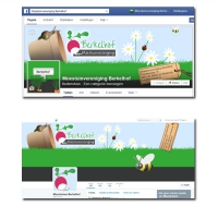 Facebook- en Twitterpagina Moestuinvereniging Berkelhof