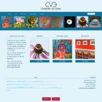 Webontwerp voor edelsmid en beeldend kunstenaar Charlotte van Essen