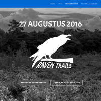 Website voor Raven Trails
