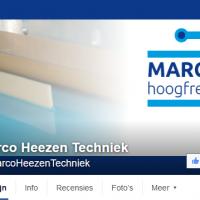 Facebook omslag Marco Heezen Techniek