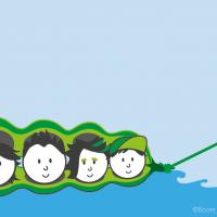 Illustratie Boontjesdoppen: Eerstelijns psychologische zorg jeugd & gezin