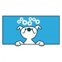 Illustratie hersenspinsels Hondenservice Braaf!