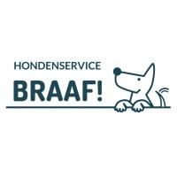 Logo Hondenservice Braaf! mono kleur