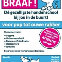 Poster Hondenservice Braaf!