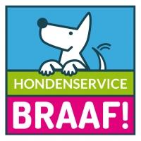 Vierkant Logo Hondenservice Braaf!