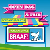 Illustratie voor Open dag Hondenservice Braaf!