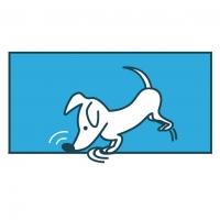 Illustratie speuren Hondenservice Braaf!