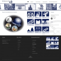 Website Stichting de Hollandse Cirkel