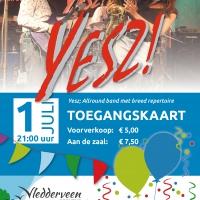 Entreeticket Live muziek Dorpsfeest Vledderveen
