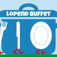 Lopend Buffet Banner voor evenement op Facebook