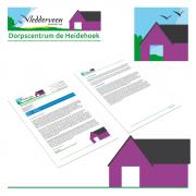 Logo en Huisstijl voor Dorpscentrum de Heidehoek in Vledderveen