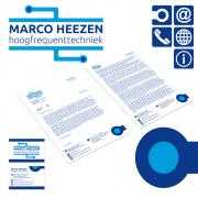 Ontwerp huisstijl en herontwerp logo voor Marco Heezen Techniek