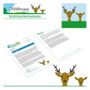 Logo en Huisstijl voor Hertenkamp in Vledderveen