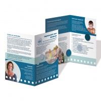 Praktijk Contast, folder haptonomie voor kinderen