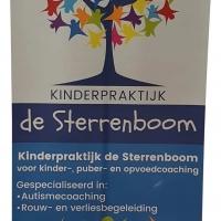 Rollup banner voor Kinderpraktijk de Sterrenboom voor bedrijvenbeurs