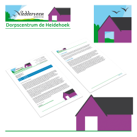 Ontwerp huisstijl Dorpscentrum Vledderveen