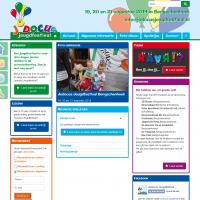 Webontwerp voor Jodocus Jeugdfestival