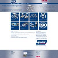 Website voor Hy-Lok Europe B.V.