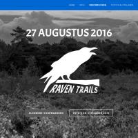 Website voor Raven Trails
